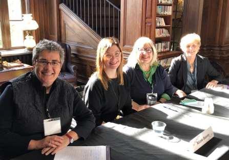 Panel 1- Brenda Buchanan, Julia Spencer-Fleming, and Anne Canadeo